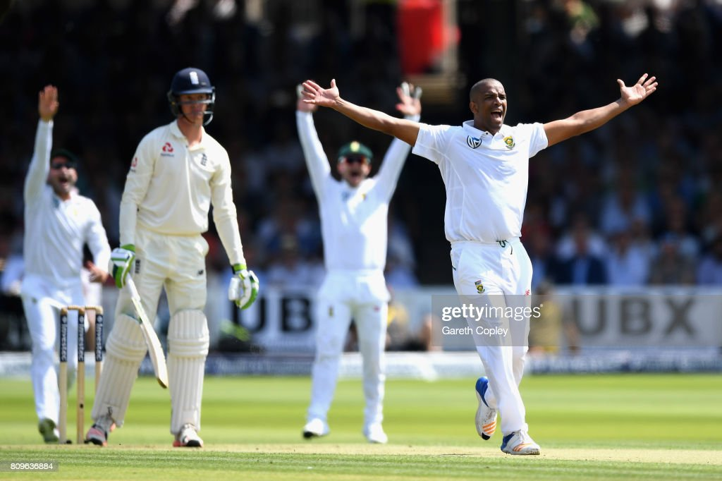 England v South Africa - 1st Investec Test: Day One