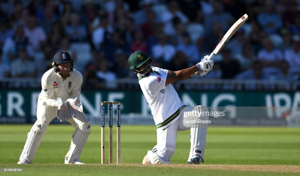 England v South Africa - 2nd Investec Test: Day Three : News Photo