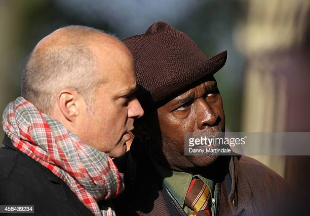 Vernon Reid attends the funeral of Jack Bruce at Golders Green Crematorium on November 5 2014 in London England