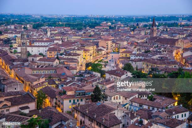 Verona from above