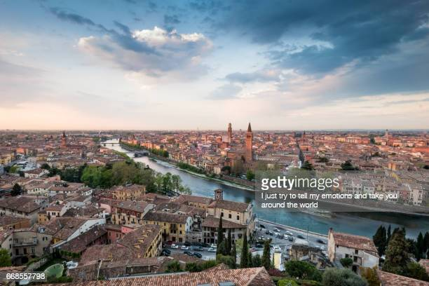 verona italy - cityscape of verona, veneto - veneto stock pictures, royalty-free photos & images