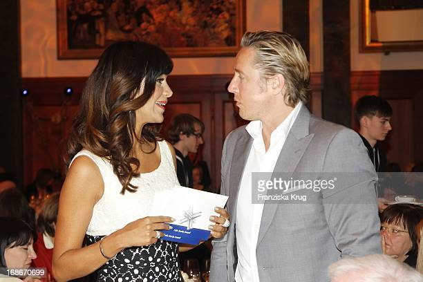 Verona Pooth and Franjo Pooth at 10th Anniversary Of The Felix Burda Award Hotel Adlon in Berlin