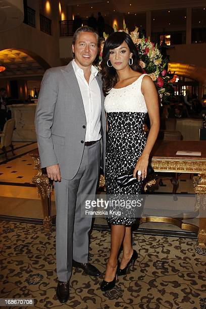 Verona Pooth and husband Franjo at 10th Anniversary Of The Felix Burda Award Hotel Adlon in Berlin