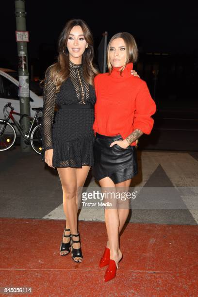 Verona Pooth and Sophia Thomalla attend the 'Gabo Fame presented by Lumas' Exhibition Opening at HumboldtBox on September 9 2017 in Berlin Germany