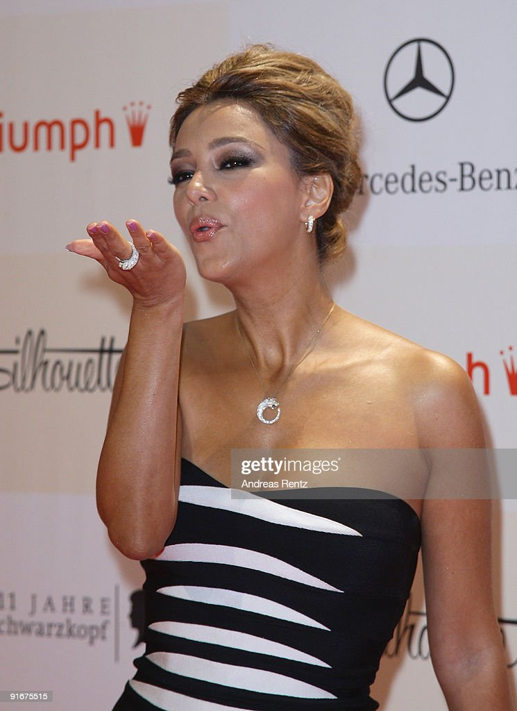 Verona Pooth arrives for the 'Tribute To Bambi 2009' at The Station on October 9, 2009 in Berlin, Germany.