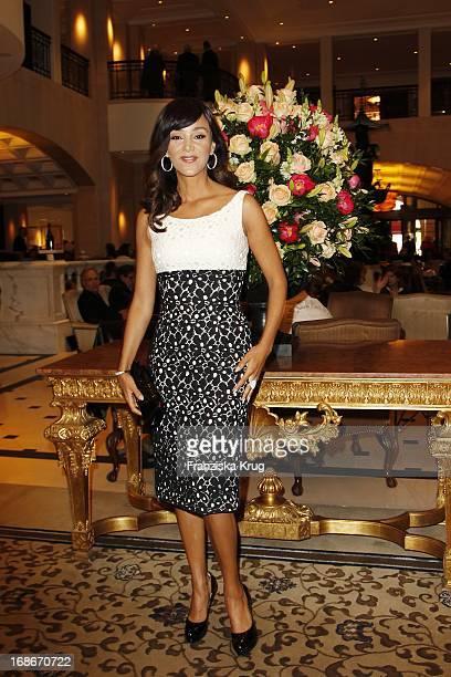 Verona Pooth at the 10th Anniversary Of The Felix Burda Award at Hotel Adlon in Berlin