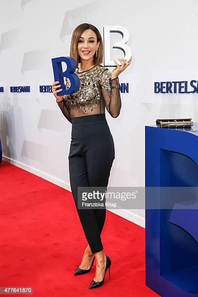 Verona Pooth attends the Bertelsmann Summer Party on June 18 2015 in Berlin Germany