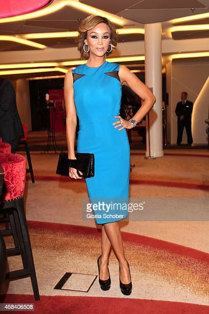 Verona Pooth attends the CLOSER Magazin Hosts SMILE Award 2014 at Hotel Vier Jahreszeiten on November 4 2014 in Munich Germany