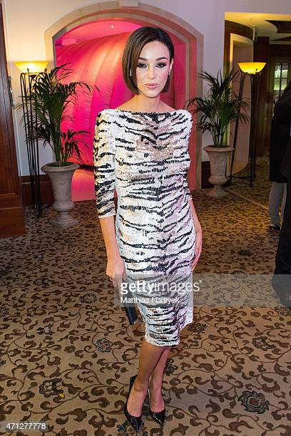 Verona Pooth attends the Felix Burda Award 2015 on April 26 2015 in Berlin Germany