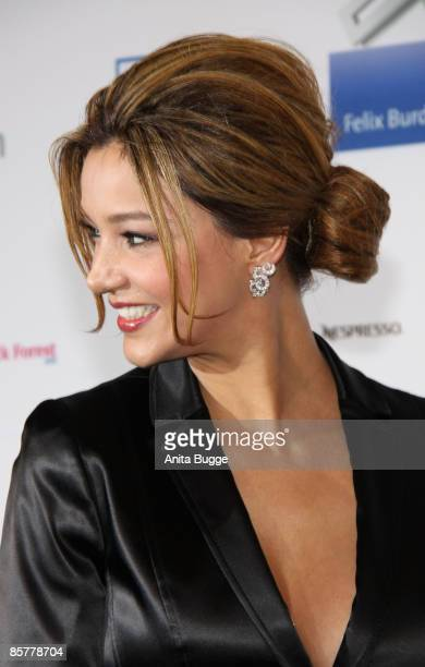 Verona Pooth attends the 'Felix Burda Award Gala 2009' at Hotel Adlon Kempinski on March 29, 2009 in Berlin, Germany.