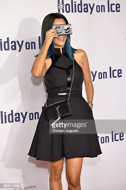 Verona Pooth attends the Holiday On Ice Gala 'Believe' at the hotel Atlantic on September 29 2015 in Hamburg Germany