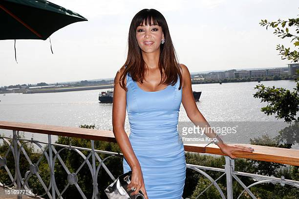 Verona Pooth attends the Ladies Lunch in aid of the German Stroke Foundation at Hotel Louis C Jacob on September 10 2012 in Hamburg Germany