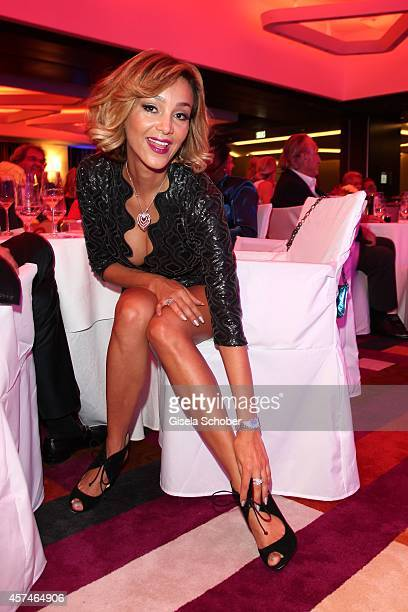 Verona Pooth attends the Monti Memorial Charity Gala at Hotel Vier Jahreszeiten on October 18 2014 in Munich Germany