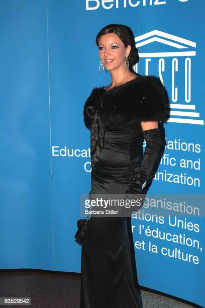 Verona Pooth attends the UNESCO Benefit Gala for Children 2008 at Hotel Maritim on November 1 2008 in Cologne Germany