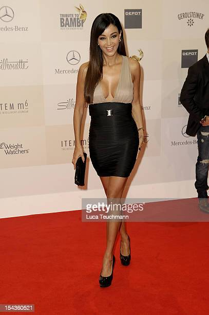 Verona Pooth attends Tribute to Bambi 2012 at the Station on October 18 2012 in Berlin Germany