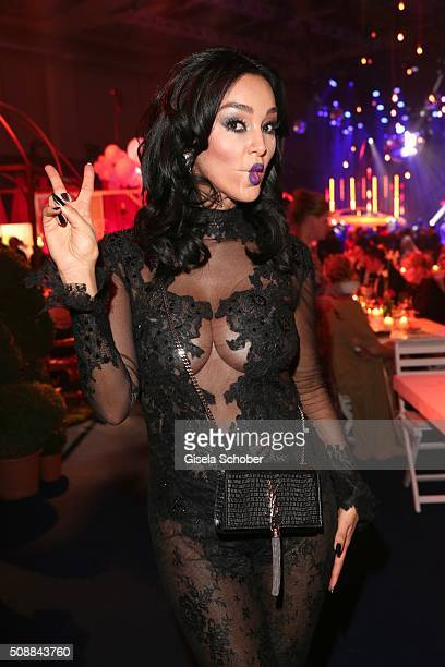 Verona Pooth during the after show party of the Goldene Kamera 2016 on February 6 2016 in Hamburg Germany