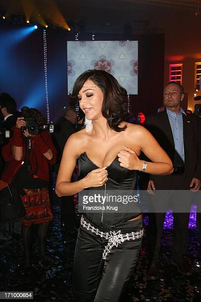 Verona Pooth Im Madonna_Look Bei Tribute To Bambi In Der