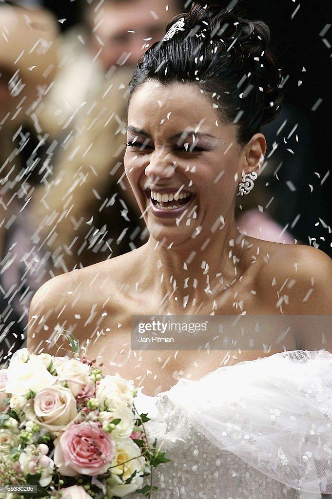 Verona Pooth Wedding Dress