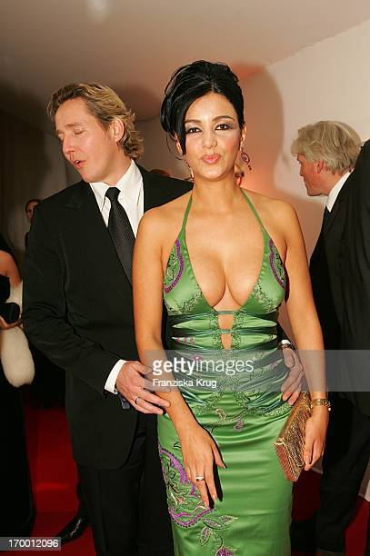 Verona Pooth with her husband Franjo In the aftershow party for media prize 'Bambi' in Hamburg