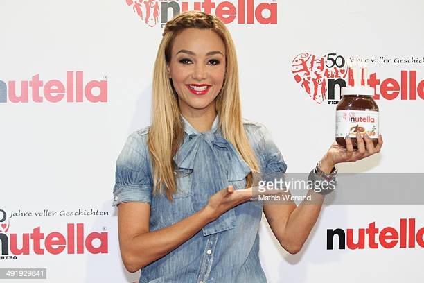 Verona Poth attends the 50 Year Anniversary Nutella Celebration at Westfalenpark on May 18 2014 in Dortmund Germany