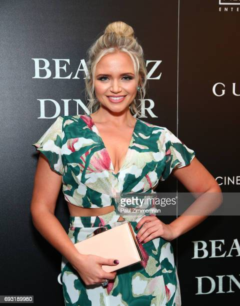 """Veronca Dash attends the Gucci & The Cinema Society Host A Screening Of Roadside Attractions' """"Beatriz At Dinner"""" at the Metrograph on June 6, 2017..."""