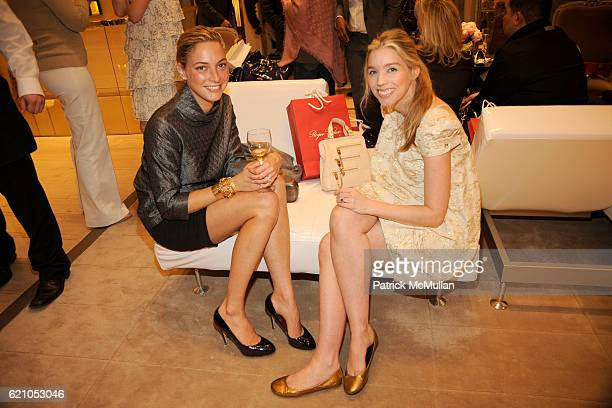 Veronica Beard and Alexandra Lind Rose attend ROGER VIVIER shopping and champagne party hosted by INES DE LA FRESSANGE and The Senior Associates of...