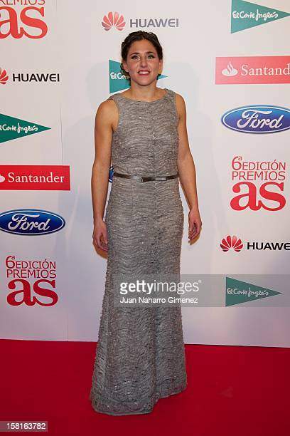 Veronica Boquete attends As del Deporte awards 2012 at Palace Hotel on December 10 2012 in Madrid Spain