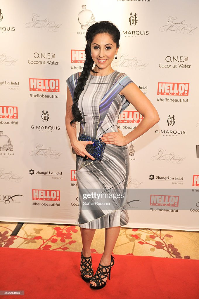 Veronica Chail attends HELLO! Canada Gala Celebrates Canada's Most Beautiful Gala at Shangri-La Hotel on May 22, 2014 in Toronto, Canada.