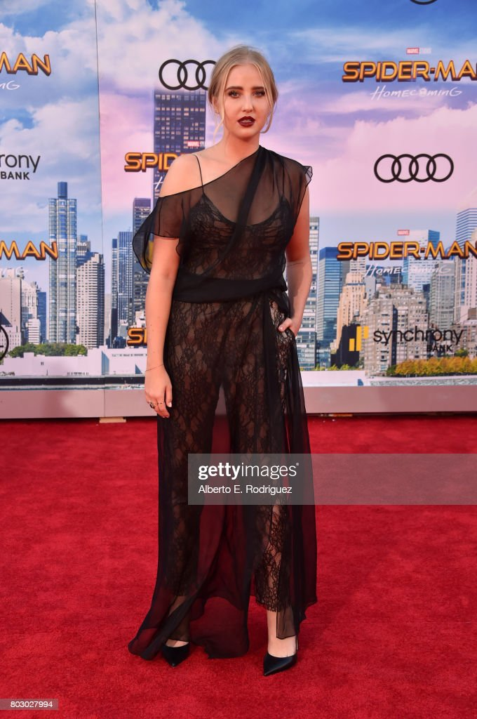 Veronica Dunne attends the premiere of Columbia Pictures' 'Spider-Man: Homecoming' at TCL Chinese Theatre on June 28, 2017 in Hollywood, California.