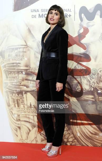 Veronica Echegui attends 'Felix' Episode 1 premiere at Callao Cinema on April 4 2018 in Madrid Spain