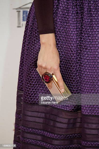 Veronica Echegui attends Jose Maria Forque awards photocall at Canal theatre on January 22 2013 in Madrid Spain