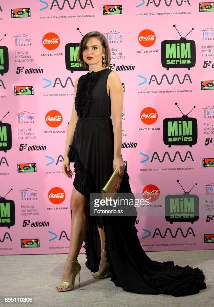 Veronica Echegui attends the 2017 MIM Series Awards at the ME Hotel on December 18 2017 in Madrid Spain