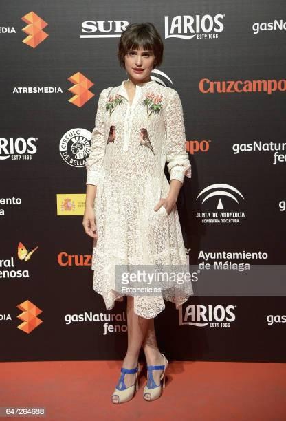 Veronica Echegui attends the Malaga Film Festival presentation cocktail at the Circulo de Bellas Artes on March 2 2017 in Madrid Spain