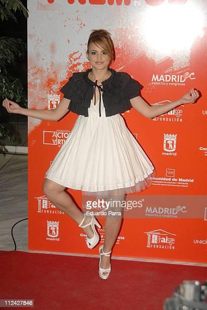 Veronica Echegui during Actors Union Awards Madrid February 12 2007 in Madrid Spain