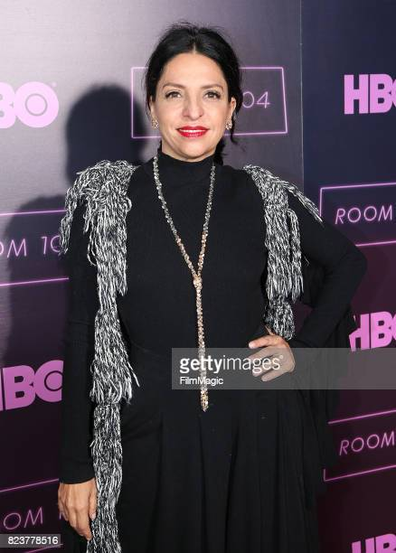 """Veronica Falcon attends HBO """"Room 104"""" Premiere at Hollywood Forever on July 27, 2017 in Hollywood, California."""