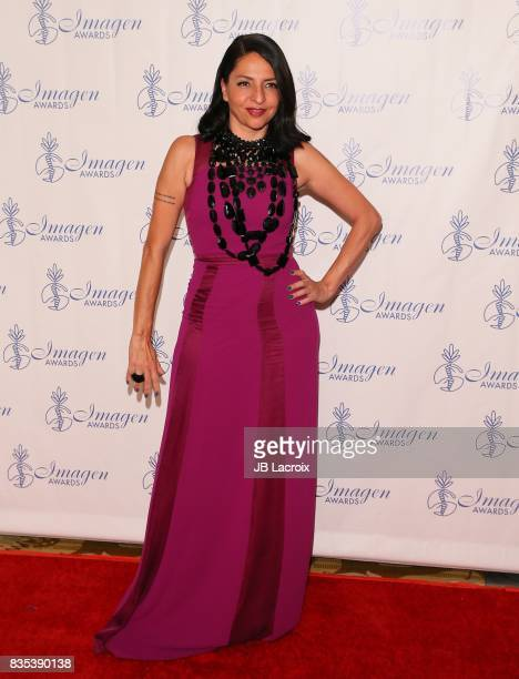 Veronica Falcon attends the 32nd annual Imagen Awards on August 18, 2017 in Los Angeles, California.