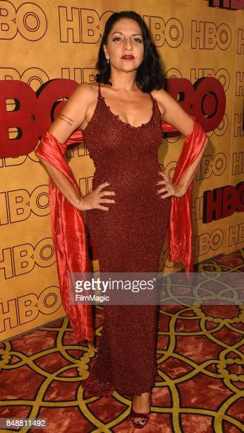 Veronica Falcon Lopez attends the HBO's Official 2017 Emmy After Party at The Plaza at the Pacific Design Center on September 17, 2017 in Los...