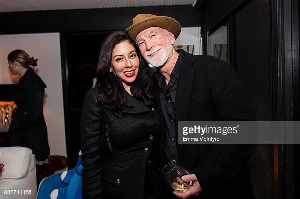 Veronica Fernandez and Keith McCarthy attend 'Art Los Angeles Contemporary host committee members and collectors Joel Lubin and wife Marija Karan...
