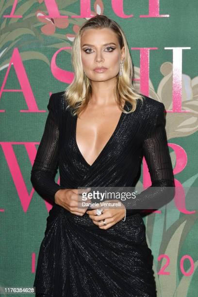 Veronica Ferraro attends the Green Carpet Fashion Awards during the Milan Fashion Week Spring/Summer 2020 on September 22 2019 in Milan Italy
