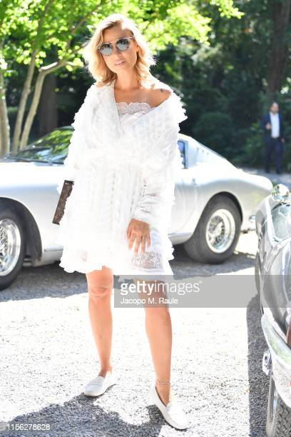 Veronica Ferraro attends the Tod's show at Milan Men's Fashion Week Spring/Summer 2020 on June 16, 2019 in Milan, Italy.