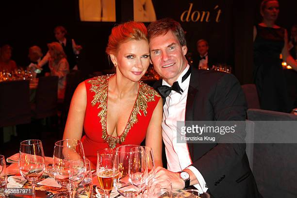 Veronica Ferres and Carsten Maschmeyer attend the Bambi Awards 2013 at Stage Theater on November 14, 2013 in Berlin, Germany.