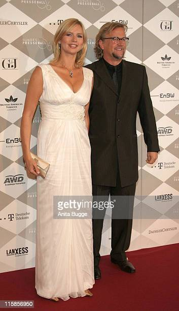 Veronica Ferres and Martin Krug during Bundespresseball Berlin November 24 2006 at Hotel InterContinental in Berlin Berlin Germany