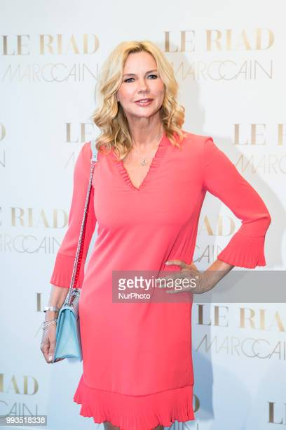 Veronica Ferres arrives to attend the Marc Cain Fashion Show during Berlin Fashion Week Spring / Summer 2019 in Berlin Germany on July 3 2018