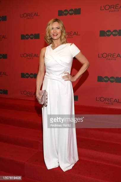 """Veronica Ferres at the L'Oreal Paris Bar """"Room No. 311"""" during the 70th Berlinale International Film Festival Berlin at Alte Muenze on February 21,..."""