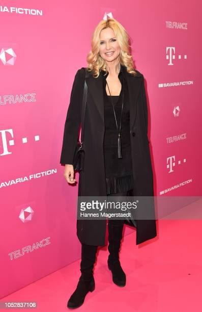 Veronica Ferres attends the Deutsch-Les-Landes premiere at Haus der Kunst on October 23, 2018 in Munich, Germany.