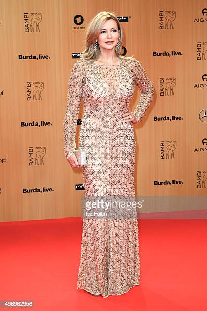 Veronica Ferres attends the Kryolan At Bambi Awards 2015 Red Carpet Arrivals on November 12 2015 in Berlin Germany