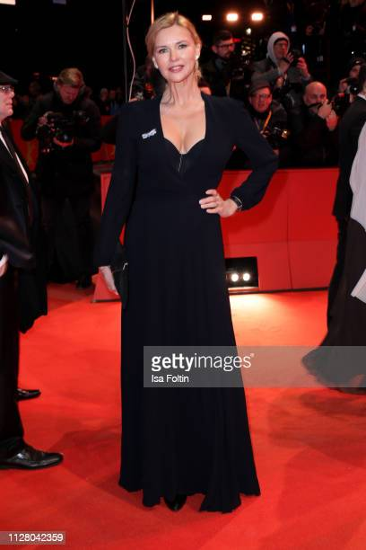 Veronica Ferres attends the The Kindness Of Strangers premiere during the 69th Berlinale International Film Festival Berlin at Berlinale Palace on...