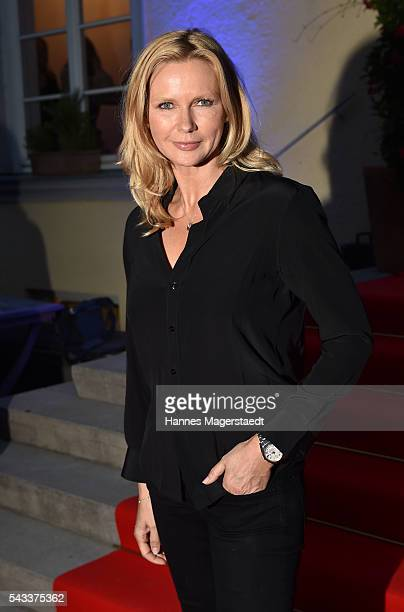 Veronica Ferres attends the UFA Fiction Reception during the Munich Film Festival 2016 at Cafe Reitschule on June 27 2016 in Munich Germany