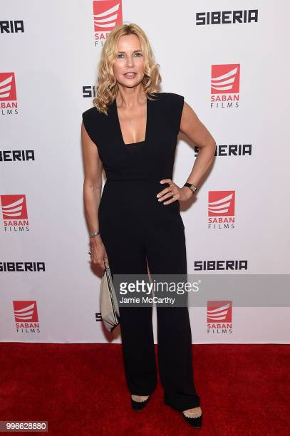 Veronica Ferres attends the'Siberia' New York Premiere at The Metrograph on July 11 2018 in New York City
