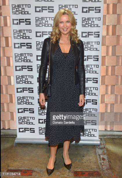 Veronica Ferres celebrates Spike Lee and Ghetto Film School at Tesse Restaurant on February 21, 2019 in West Hollywood, California.
